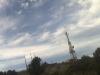 Torre para la instalacion antenas de red wifi