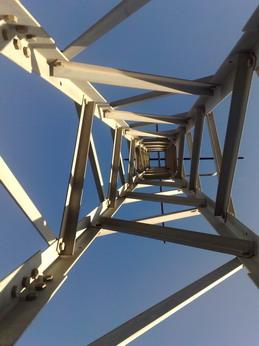 Torre de telecomunicaciones red wifi