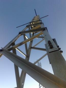 Torre para instalación antenas Wifi