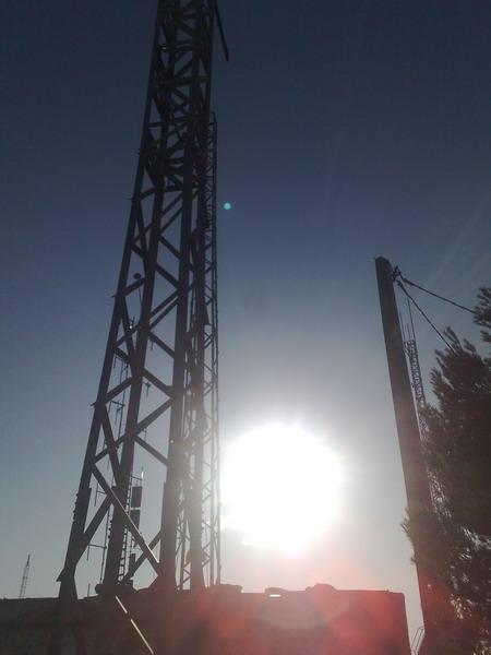 Torre antenas radio y televisióm