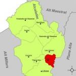 Localización geográfica Costur