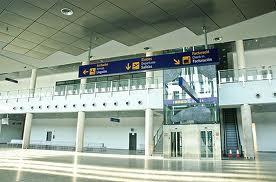 Interior instalaciones Aeropuerto de Castellón