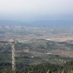 Vista montañosa interior Castellón