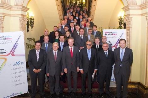 Todos con el corredor mediterraneo para mejorar la comunicacion