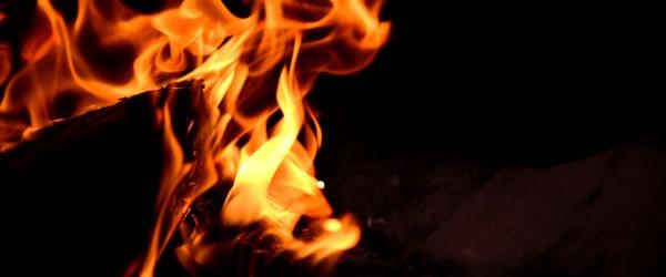 Fuego en el aeropuerto de Castellón