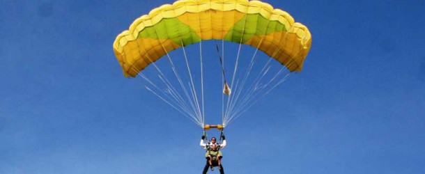 Paracaidismo en el Aeropuerto de Castellón
