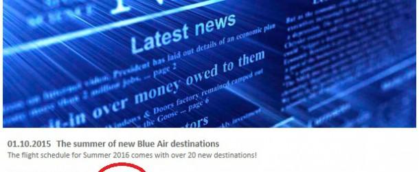 Blue Air abre la venta de billetes al aeropuerto de Castellón