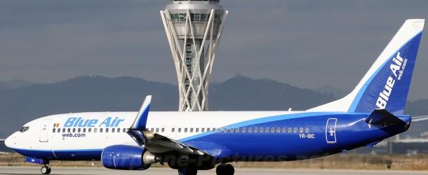 Blue Air ofrecerá 35.000 plazas al año entre el aeropuerto de Castellón y Bucarest
