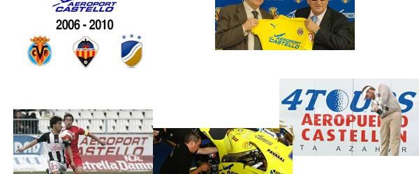 El aeropuerto de Castellón gastó 30 millones de euros en patrocinios