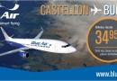 Blue Air ya opera en Castellón con una oferta única en España