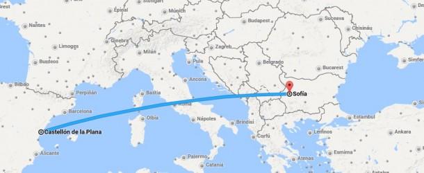 Vuelos desde Aeropuerto de Castellón a Sofia