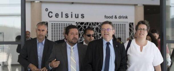 Puig pretende conectar el aeropuerto de Castellón con Madrid y Barcelona
